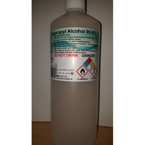 1l Isopropyl Alcohol Rubbing Alcohol Isopropanol Dublin