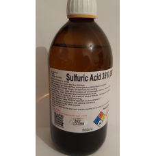 Sulfuric acid 500ml 35%