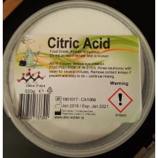 Citric Acid 500g